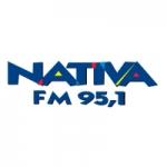 Logo da emissora Rádio Nativa Avaré 95.1 FM