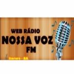 Logo da emissora Nossa Voz FM