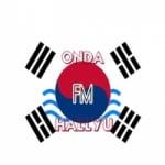 Logo da emissora Onda Hallyu FM
