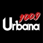 Logo da emissora Radio Urbana 100.9 FM