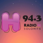 Logo da emissora Radio H 94.3 FM