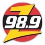 Logo da emissora Radio CIZZ Zed 98.9 FM