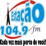 Logo da emissora Rádio Estação 104.9 FM