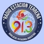 Logo da emissora Radio Estación Terrena 91.3 FM