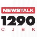 Logo da emissora Radio CJBK 1290 AM