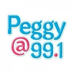 Logo da emissora Radio CJGV Peggy 99.1 FM