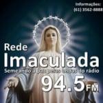 Logo da emissora Rádio Rede Imaculada 94.5 FM