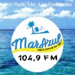 Logo da emissora Web Rádio Mar Azul FM
