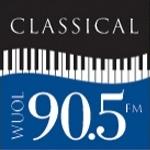 Logo da emissora Radio WUOL Classical 90.5 FM