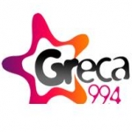Logo da emissora Radio Greca 99.4 FM