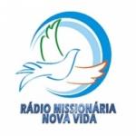Logo da emissora Rádio Missionária Nova Vida