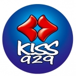 Logo da emissora Radio Kiss 92.9 FM