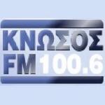 Logo da emissora Radio Knossos 100.6 FM