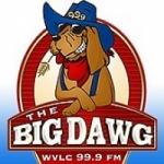 Logo da emissora Radio WVLC The Big Dawg 99.9 FM