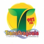 Logo da emissora Rádio Transaraguaia 99.1 FM