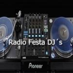 Logo da emissora Rádio Festa Dj´s