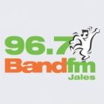 Logo da emissora Rádio Band 96.7 FM