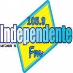 Logo da emissora Rádio Independente 105.9 FM