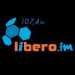 Logo da emissora Radio Libero 107.4 FM