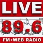 Logo da emissora Radio Live 89.6 FM