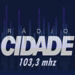 Logo da emissora Rádio Cidade 103.3 FM