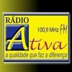 Logo da emissora Rádio Ativa Rio