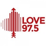 Logo da emissora Radio Love 97.5 FM