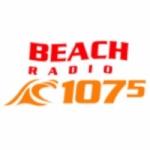 Logo da emissora Beach Radio 107.5  FM