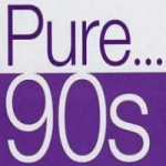 Logo da emissora Radio Pure 90's