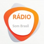 Logo da emissora Rádio Som Brasil