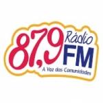 Logo da emissora Rádio A Voz das Comunidades 87.9 FM