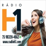 Logo da emissora Rádio H1