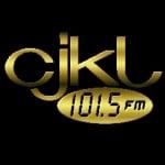 Logo da emissora Radio CJKL 101.5 FM