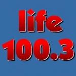 Logo da emissora Radio CJLF Life 100.3 FM