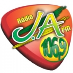 Logo da emissora Rádio J.A 106.9 FM