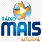 Logo da emissora Rádio Mais Litoral