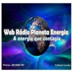 Logo da emissora Rádio Planeta Energia