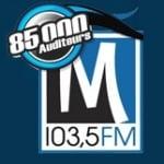 Logo da emissora Radio CJLM 103.5 FM