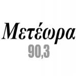 Logo da emissora Radio Meteora 90.3 FM