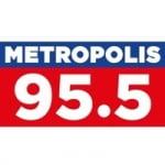 Logo da emissora Radio Metropolis 95.5 FM