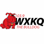 Logo da emissora Radio WXKQ The Bulldog 103.9 FM