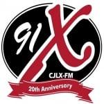 Logo da emissora Radio CJLX 91 FM