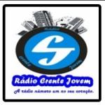 Logo da emissora Rádio Crente Jovem