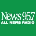 Logo da emissora Radio CJNI News 95.7 FM