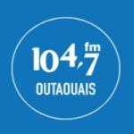 Logo da emissora Radio CJRC 104.7 FM
