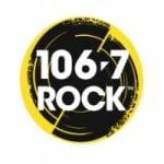 Logo da emissora Radio CJRX Rock 106 FM