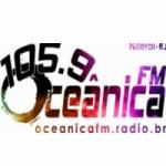 Logo da emissora Rádio Oceânica 105.9 FM