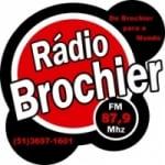 Logo da emissora Rádio Brochier 87.9 FM