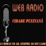 Logo da emissora Rádio Cidade Puxinana