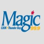 Logo da emissora Radio CJUK Magic 99.9 FM